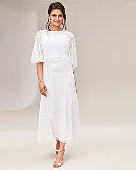 Joanna Hope Cape Wedding Dress