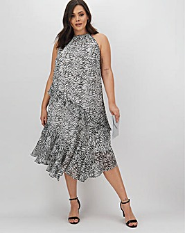 Joanna Hope Frill Swing Dress