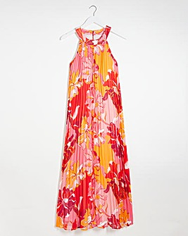 Joanna Hope Pleated Trapeze Maxi Dress