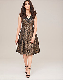 Joanna Hope Jacquard Dress