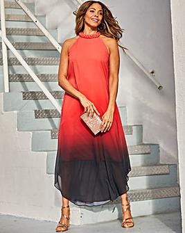 Joanna Hope Ombre Maxi Dress