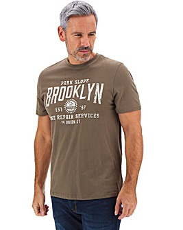 Brooklyn Printed T-shirt Long