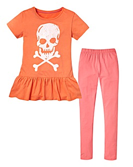 KD EDGE Skull Top and Leggings (7-13yrs)