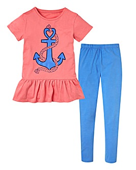 KD EDGE Anchor Top and Legging (7-13yrs)