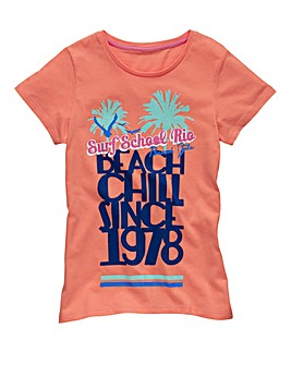 KD EDGE Girls Beach T-Shirt (7-13 years)