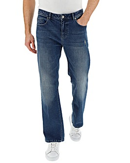 Stonewash Loose Fit Premium Wash Jeans