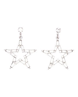Star Drop Earrings