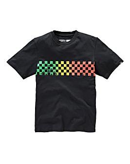 Vans Check Band Boys T-Shirt (S-XL)