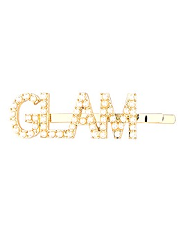 Glam Rhinestone Hair Slide