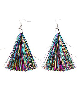 Christmas Tassel Earring