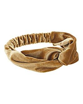 Mustard & Velvet Bandeau Headband