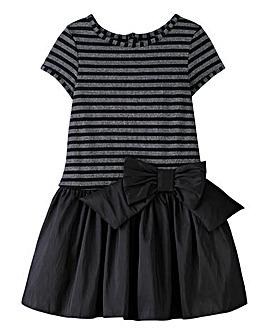 KD MINI Striped Bow Dress (2-8 yrs)