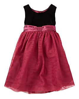 KD BABY Velour Occasion Dress