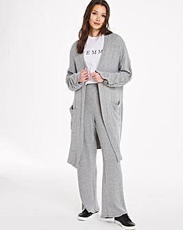 Grey Rib Trouser