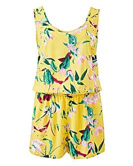 Vero Moda Floral Print Playsuit