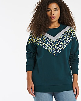 Cheveron Animal Sweatshirt