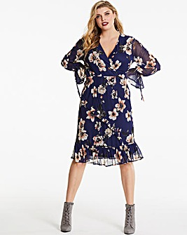 Lovedrobe Mesh Wrap Dress