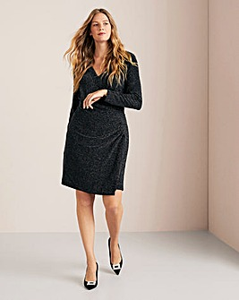 Violeta By Mango Glitter Dress