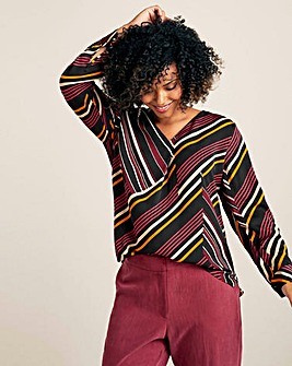 Violeta By Mango Stripe Blouse