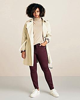 Violeta By Mango Frayed Jeans
