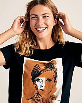 Violeta By Mango Print T-Shirt