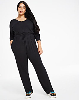 Long Sleeve Soft Touch Jumpsuit