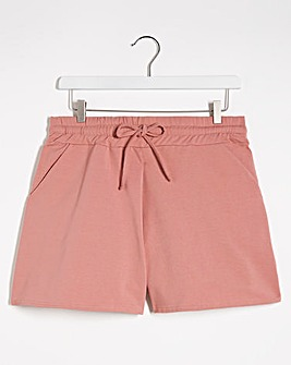 Dusky Pink Jogger Shorts
