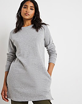 Grey Marl Sweat Tunic