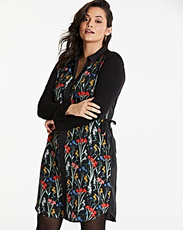 Oasis Curve Woven Shirt Dress