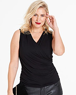 Anna Field Jersey Wrap Top