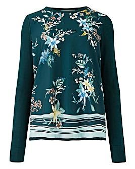 Oasis Curve Winter Jasmin Floral Top