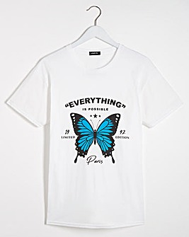 Everything is Possible Butterfly T-Shirt