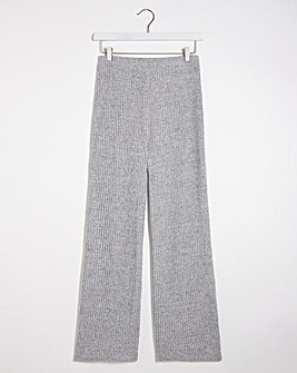 Super Soft Ribbed Flared Trousers