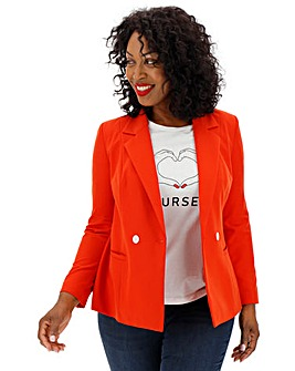 Vero Moda Red Tailored Blazer
