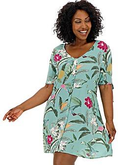 Vero Moda Button Through Tea Dress