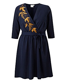 Junarose Marta Embroidered Dress