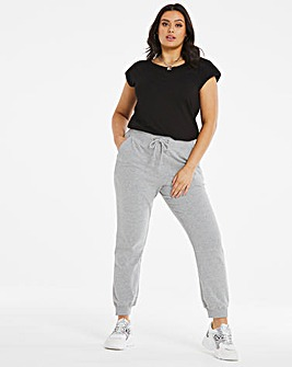 Grey Marl Fashion Jogger