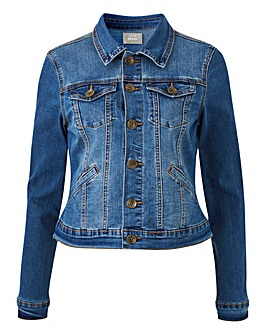 Oasis Curve Nancy Denim Jacket