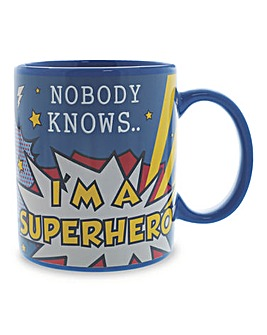 Superhero Colour Change Mug