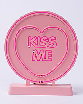 Love Heart Kiss Me Light