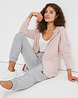 Dusty Pink Soft Touch Hoodie
