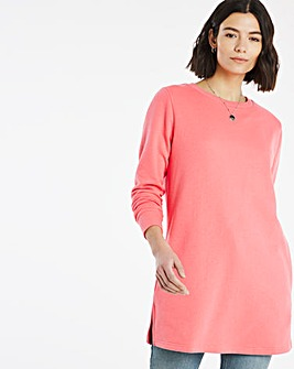 Blossom Pink Sweat Tunic