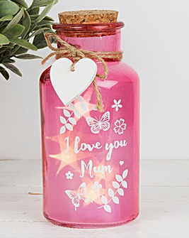 Mum Light Up Jar and Tokens