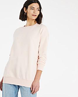 Chiffon Pink Sweatshirt