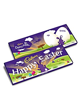 Cadbury Happy Easter 850g Bar