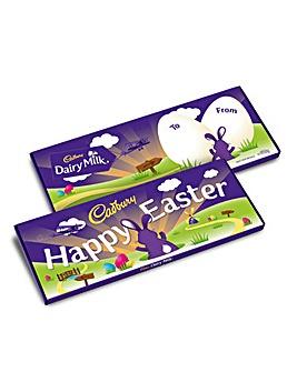 Cadbury Happy Easter 850g Bar