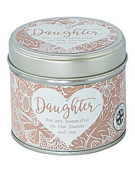 Sentiment Candle Tin