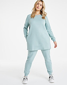 Steel Blue Sweat Tunic