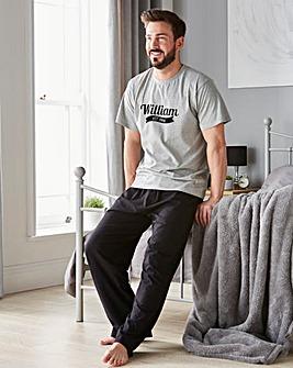 Personalised Mens Established Pyjamas