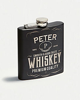 Personalised Label Hip Flask